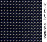 fleur de lis ancient french... | Shutterstock .eps vector #1994491010