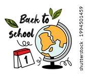 concept of education. school...   Shutterstock .eps vector #1994501459