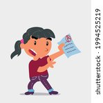 cartoon character of  little... | Shutterstock .eps vector #1994525219