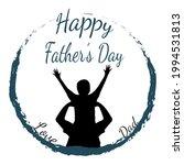 vector message happy father's... | Shutterstock .eps vector #1994531813