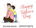 happy father's day greeting... | Shutterstock .eps vector #1994576876