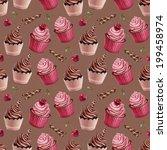 Cherry And Chocolate Cupcakes...
