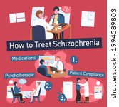 how to treat schizophrenia....   Shutterstock .eps vector #1994589803