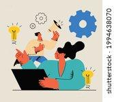 creative online content and...   Shutterstock .eps vector #1994638070