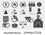 law set vector icons for web... | Shutterstock .eps vector #1994647256