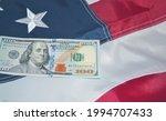 bills of one hundred us dollars ... | Shutterstock . vector #1994707433