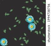 floral abstract background...   Shutterstock .eps vector #1994738756