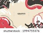 abstract graffiti background... | Shutterstock .eps vector #1994755376