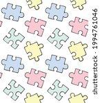 vector seamless pattern of... | Shutterstock .eps vector #1994761046