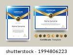 certificate of appreciation... | Shutterstock .eps vector #1994806223
