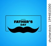 flat happy father's day... | Shutterstock .eps vector #1994810300