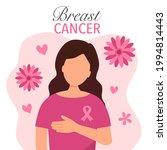 breast cancer awareness month... | Shutterstock .eps vector #1994814443