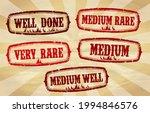 beef steak doneness rubber...   Shutterstock .eps vector #1994846576