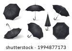 black realistic umbrella icon... | Shutterstock .eps vector #1994877173