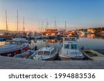 Scenic View Of The Harbor In...