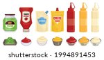sauce packaging set with... | Shutterstock .eps vector #1994891453