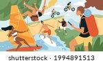 summer sport vector...   Shutterstock .eps vector #1994891513