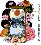libra vector of astrology... | Shutterstock .eps vector #1994891726