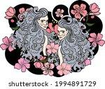 gemini of astrology design...   Shutterstock .eps vector #1994891729