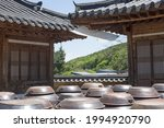 Traditional Korean House And...