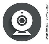 webcam sign icon. web video... | Shutterstock .eps vector #199492250