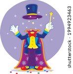 Artful Circus Magician...