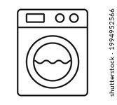 washing machine icon vector for ...