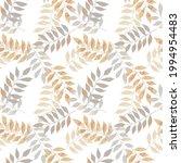 thanksgiving botanical seamless ...   Shutterstock .eps vector #1994954483