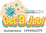 vaccine syringe with...   Shutterstock .eps vector #1994962379