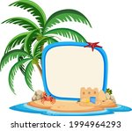 empty banner template with...   Shutterstock .eps vector #1994964293