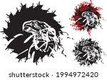eagle head splashes on a white... | Shutterstock .eps vector #1994972420