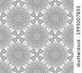 black and white dense openwork...   Shutterstock .eps vector #1995007853