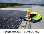 photovoltaic | Shutterstock . vector #199502759