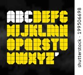 alphabet. vector.   Shutterstock .eps vector #199506698