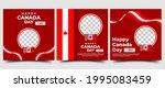 canada day social media post... | Shutterstock .eps vector #1995083459
