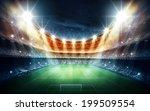 light of stadium | Shutterstock . vector #199509554