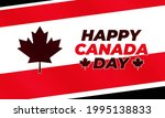 canada day july 1st. happy... | Shutterstock .eps vector #1995138833