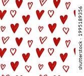 stylish graphic seamless... | Shutterstock .eps vector #1995189356