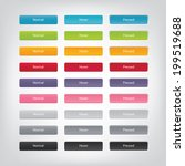 Vector Web Buttons With...