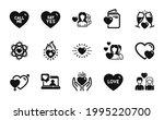 vector set of woman love ... | Shutterstock .eps vector #1995220700
