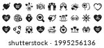 set of love icons  such as love ... | Shutterstock .eps vector #1995256136