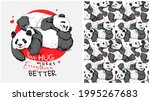 collection of one print and one ... | Shutterstock .eps vector #1995267683