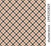 dog tooth tweed pattern in...   Shutterstock .eps vector #1995292829