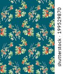 seamless pattern  japanese... | Shutterstock . vector #199529870