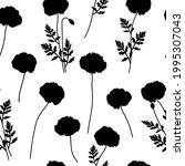 seamless pattern poppies...   Shutterstock .eps vector #1995307043