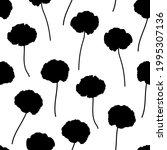 seamless pattern poppies...   Shutterstock .eps vector #1995307136