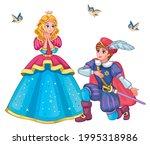beautiful fairytale elf... | Shutterstock .eps vector #1995318986