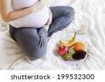 nutritional needs during... | Shutterstock . vector #199532300