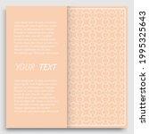 card  invitation  cover... | Shutterstock .eps vector #1995325643