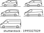 set of simple commercial...   Shutterstock .eps vector #1995327029